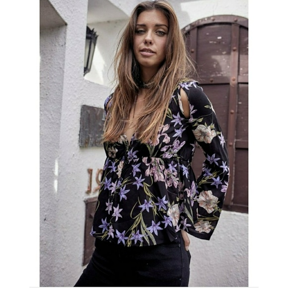 33bf972508f Jaase statment floral top